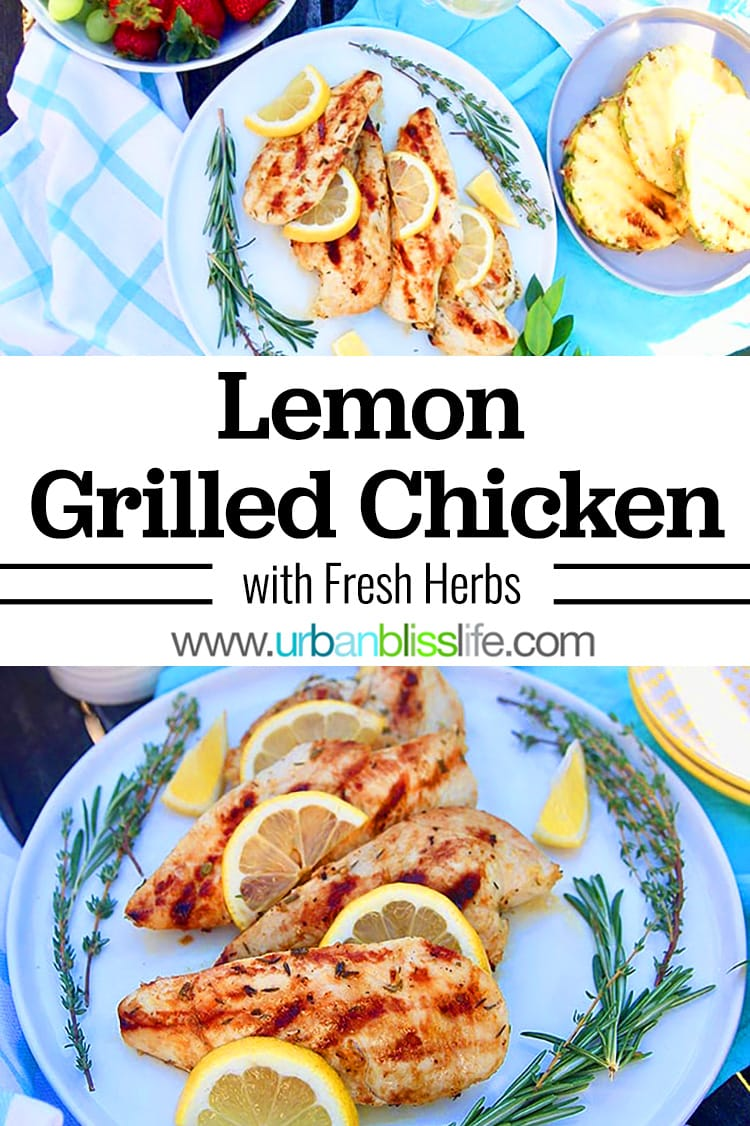 lemon grilled chicken