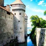 Chateau de Chillon moat