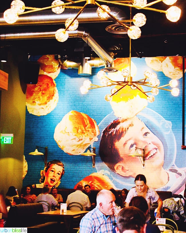 Denver Biscuit mural