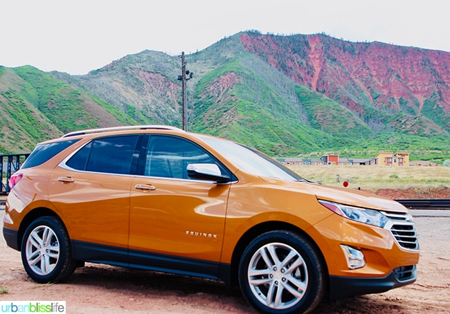Chevy Equinox Colorado road trip