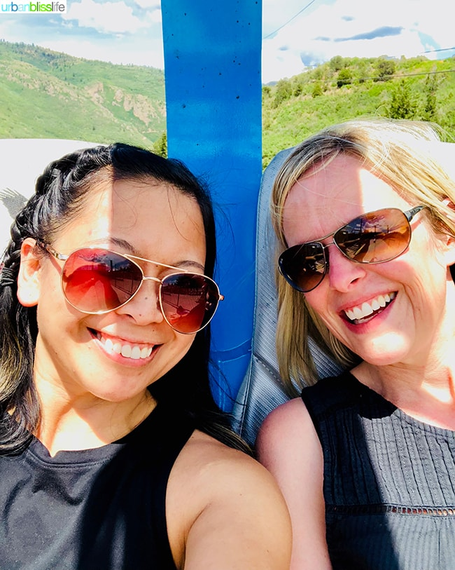 Marlynn Schotland & friend, Colorado road trip