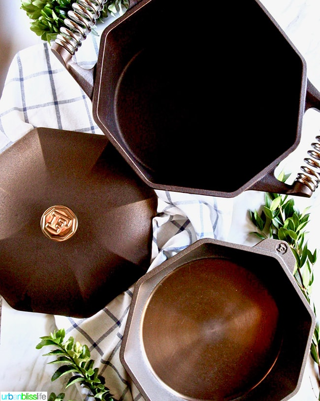 Finex Cookware Dutch oven and skillet set