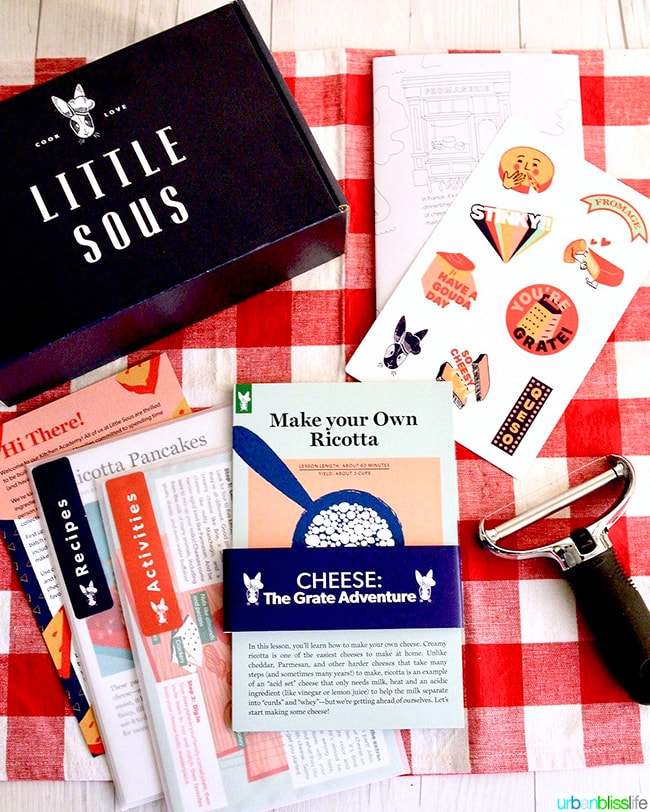 Little Sous subscription boxes