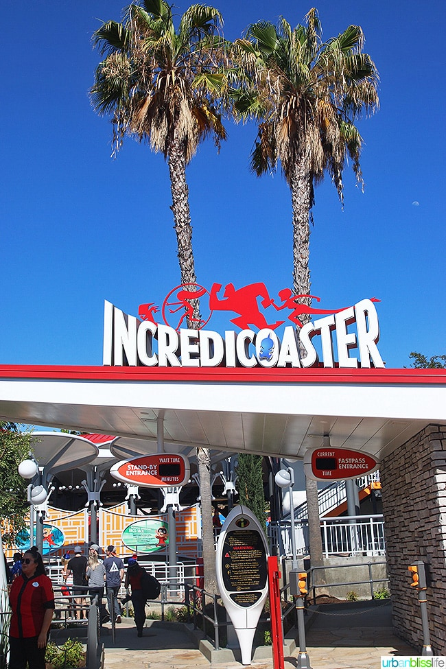 Pixar Pier Incredicoaster