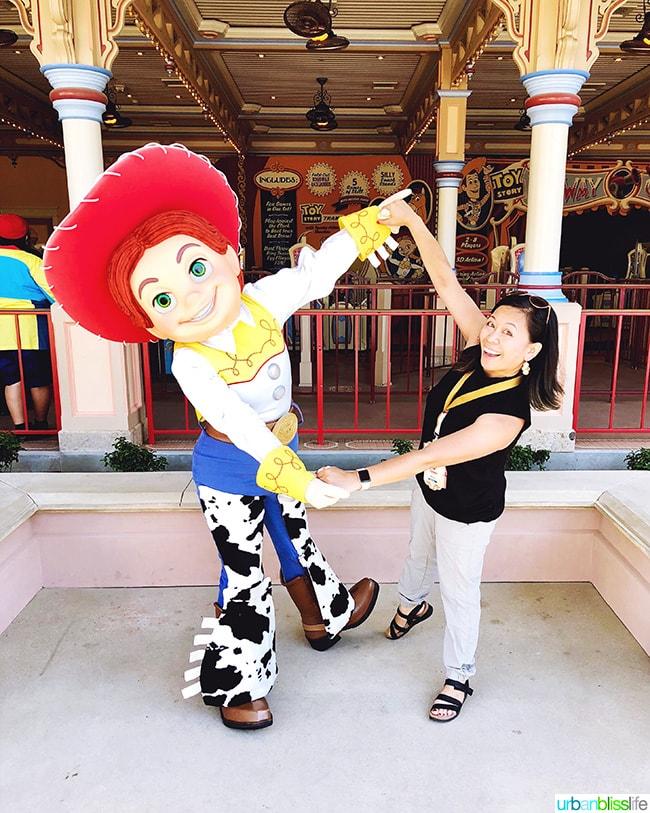 Pixar Pier characters Jessie Toy Story