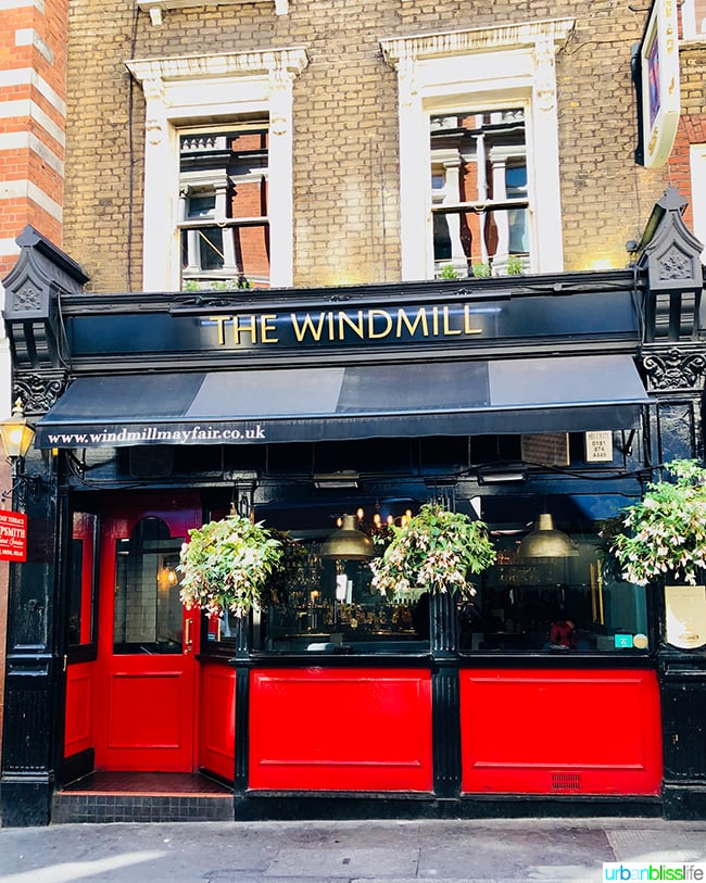 The Windmill Mayfair London