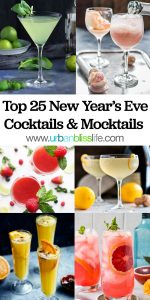 Top 25 NYE Cocktails Mocktails