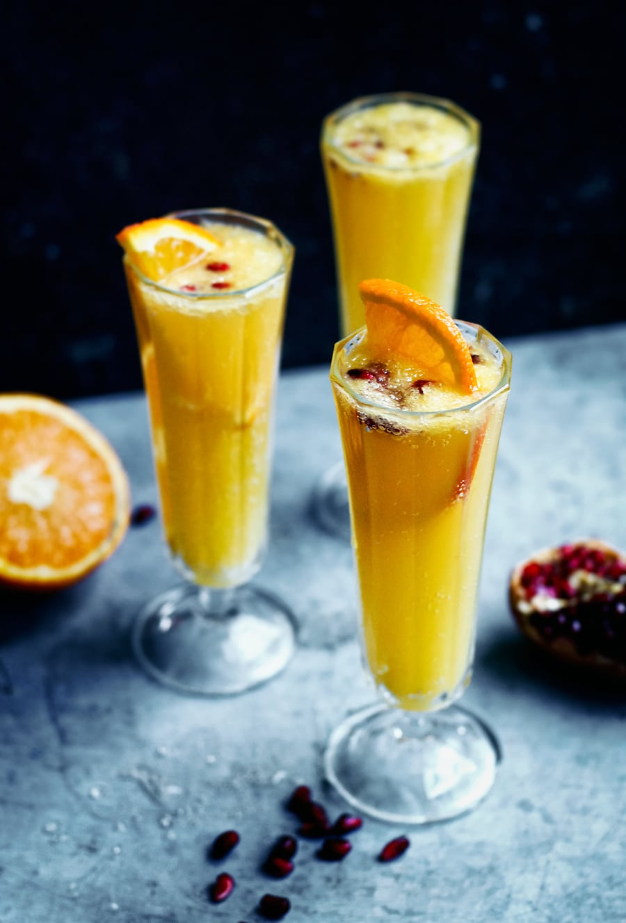 ginger beer orange sparkler mocktail