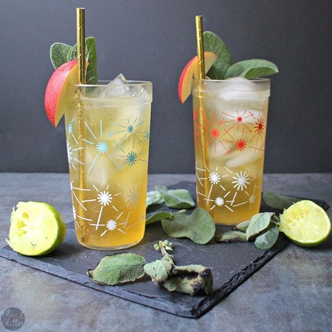 hard apple cider cocktail