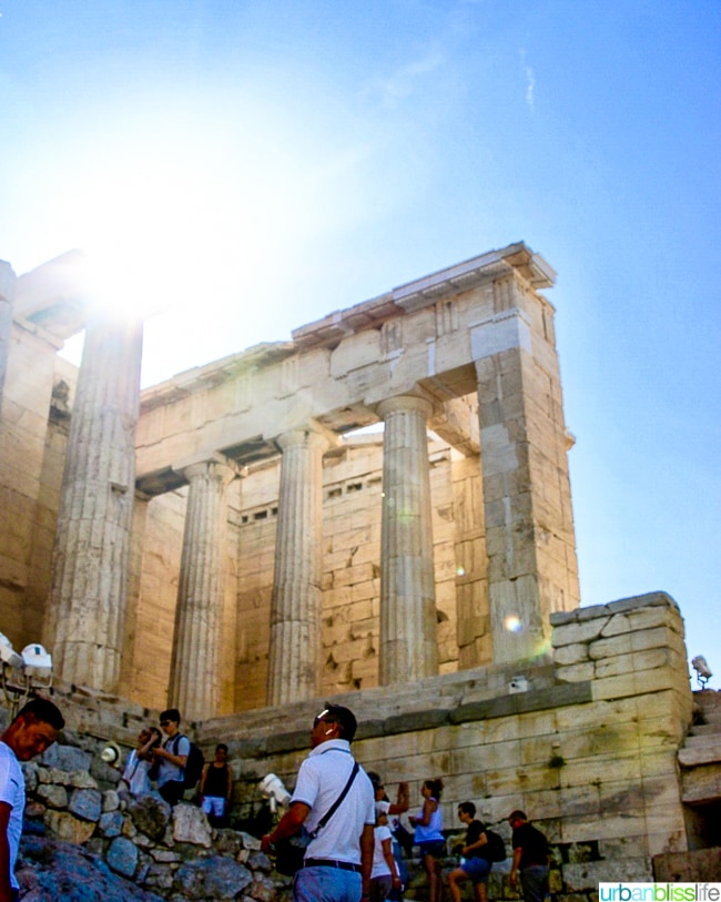 Acropolis Tour Athens Greece