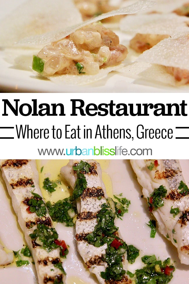 Nolan restaurant Athens, Greece