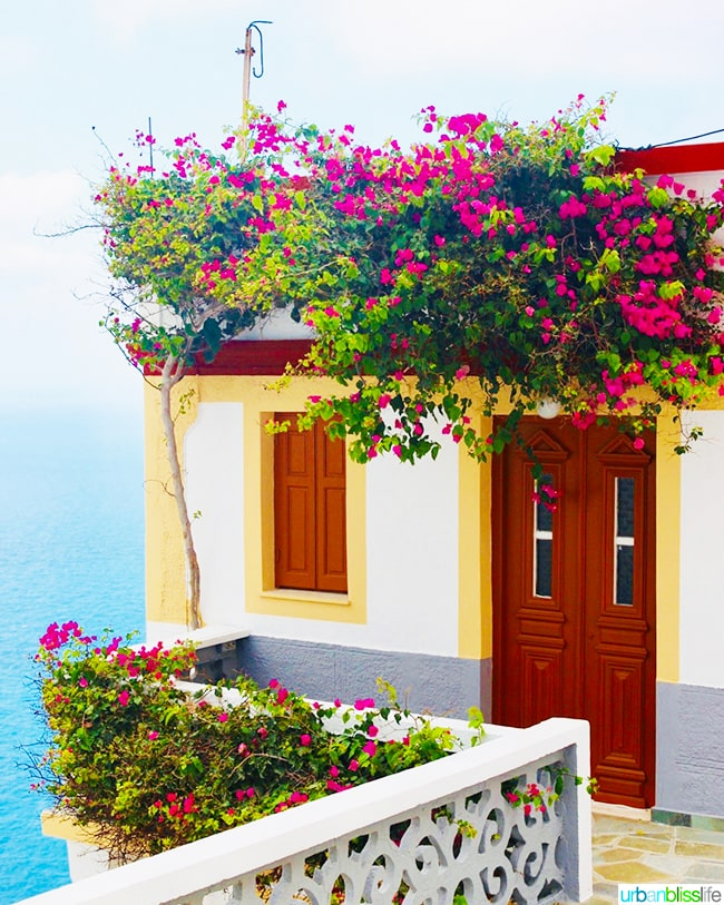 Seaside home on Olympos Karpathos Island Greece
