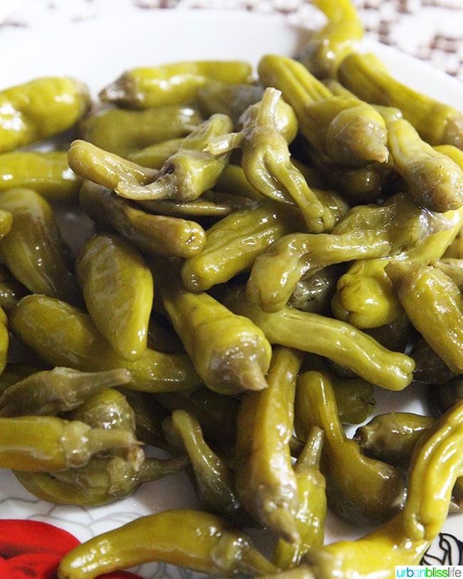 peppers olympos karpathos island greece