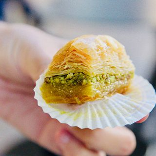 Greek baklava in Athens, Greece