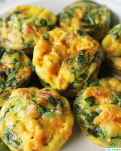 Cheesy Spinach Mini Frittatas Make-Ahead Brunch Recipe