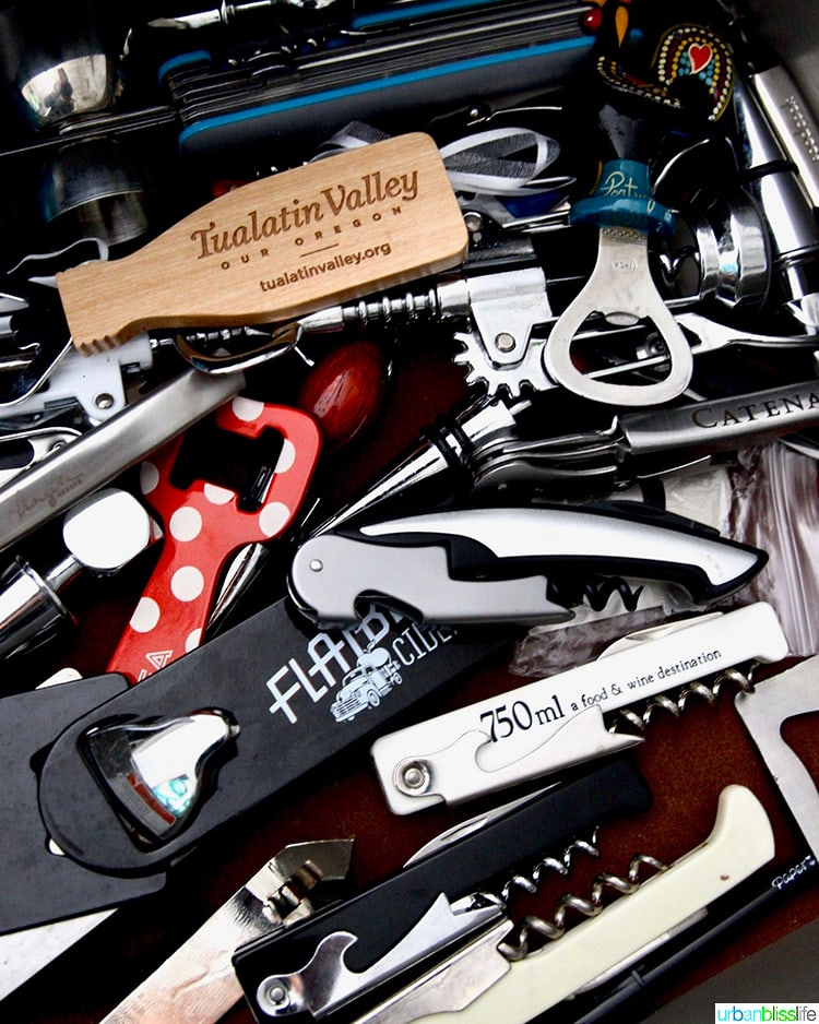 ultimate guide to the best corkscrews: bunch of corkscrews and bottle openers