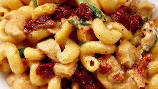 Instant Pot Tuscan Chicken Pasta (Dairy-Free)