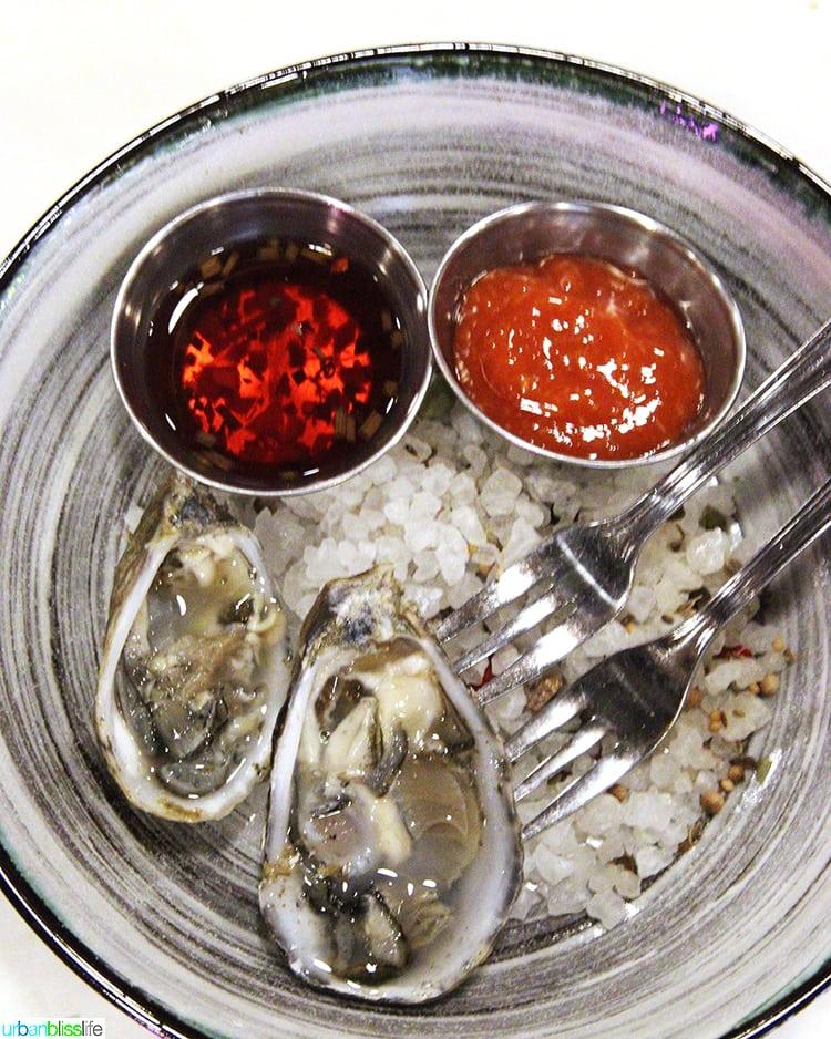 oysters at Bar Miranda