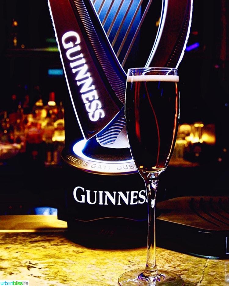 Black Velvet and harp Guinness Storehouse