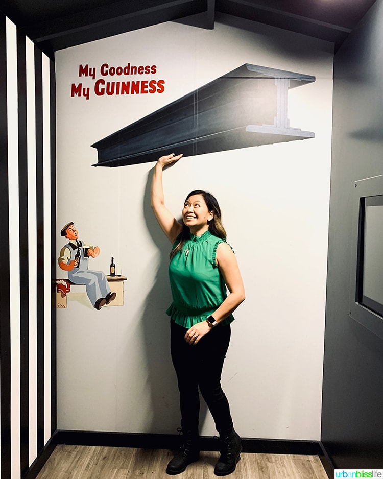 Marlynn Schotland at Guinness Storehouse
