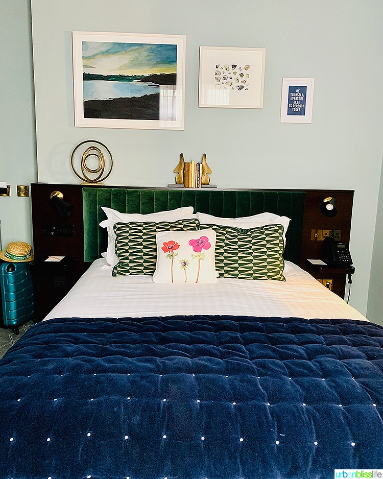 bed at Wilder Townhouse