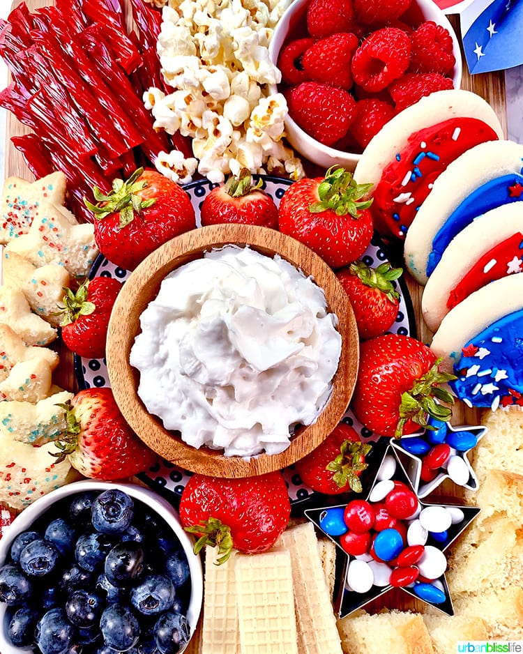 4th of July Dessert Board