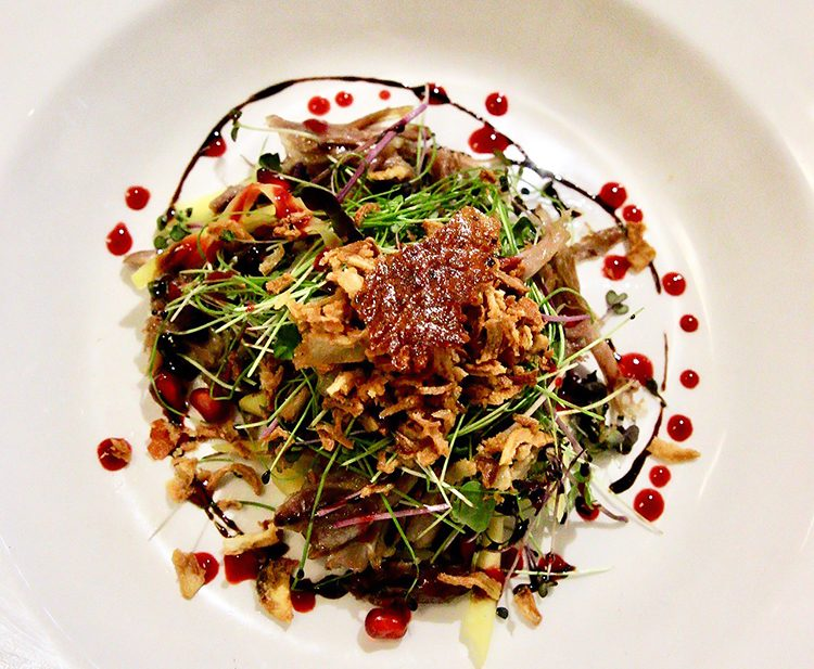 Fire Restaurant Duck Salad