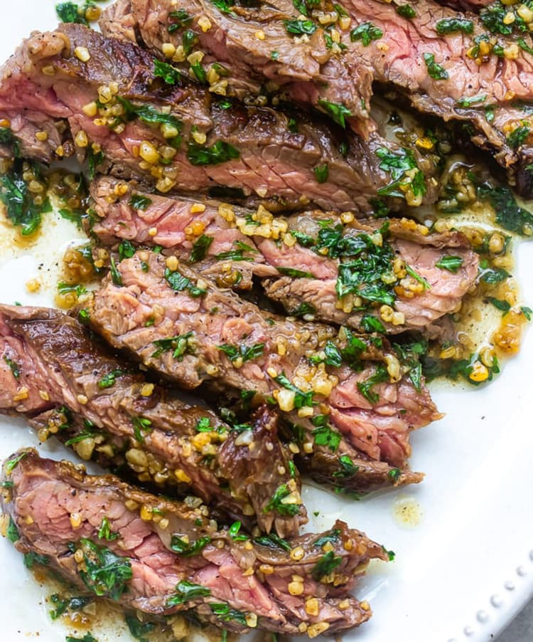 Garlic Butter Brazilian Steak family-friendly 30-minute meals