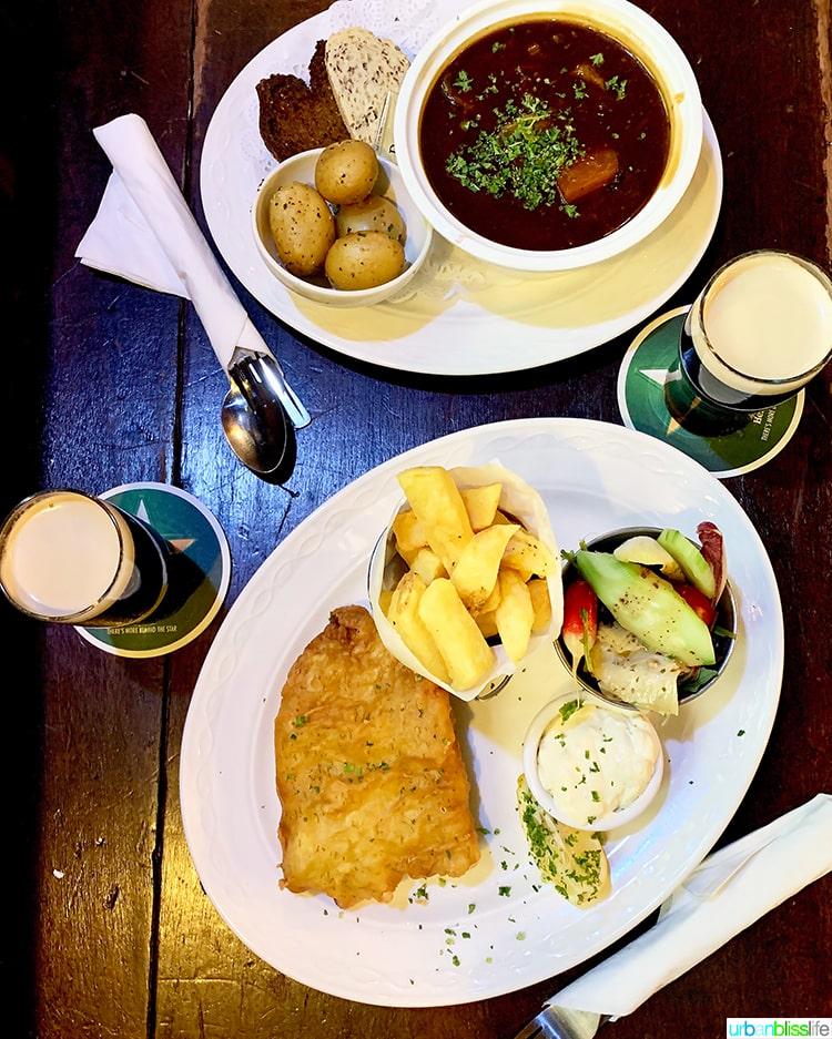 Oliver St John Gogartys Dublin Food