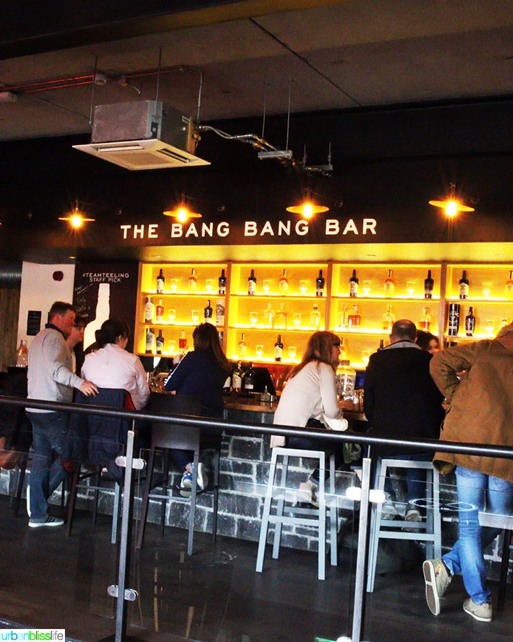 Teeling Whiskey Bang Bang Bar