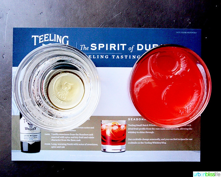 Teeling Whiskey cocktails