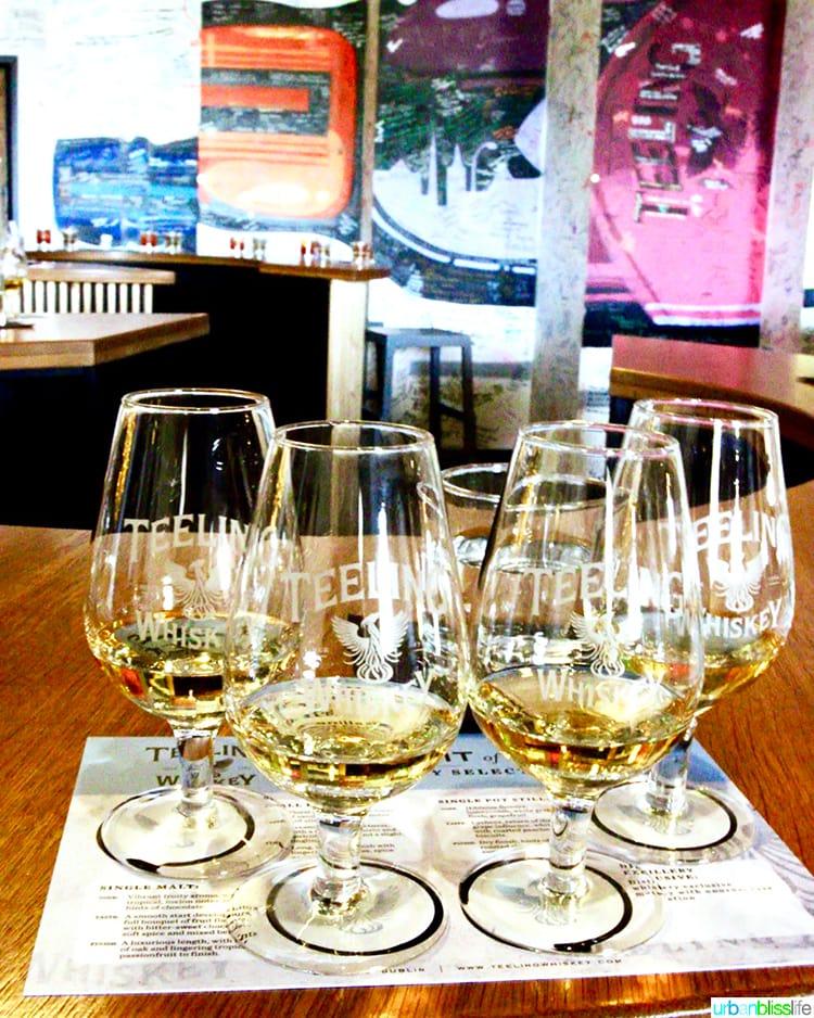 Teeling Whiskey tasters
