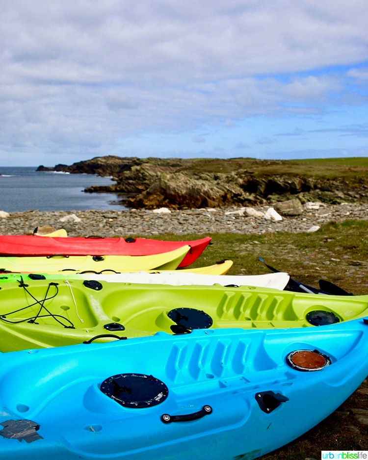 Kayaks Wild Atlantic Way