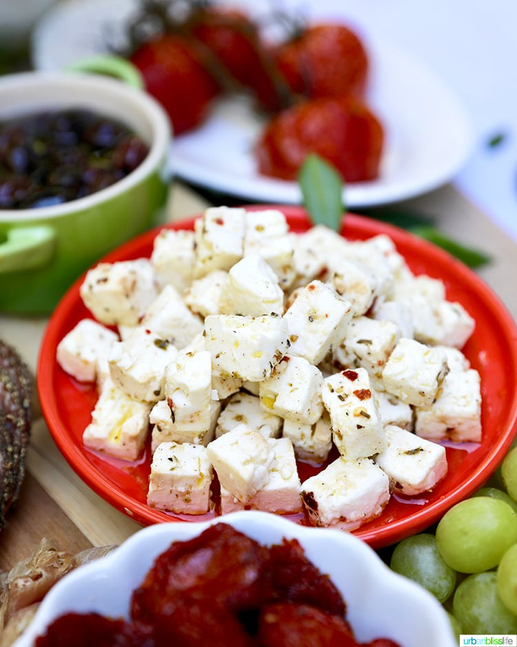 marinated feta cheese