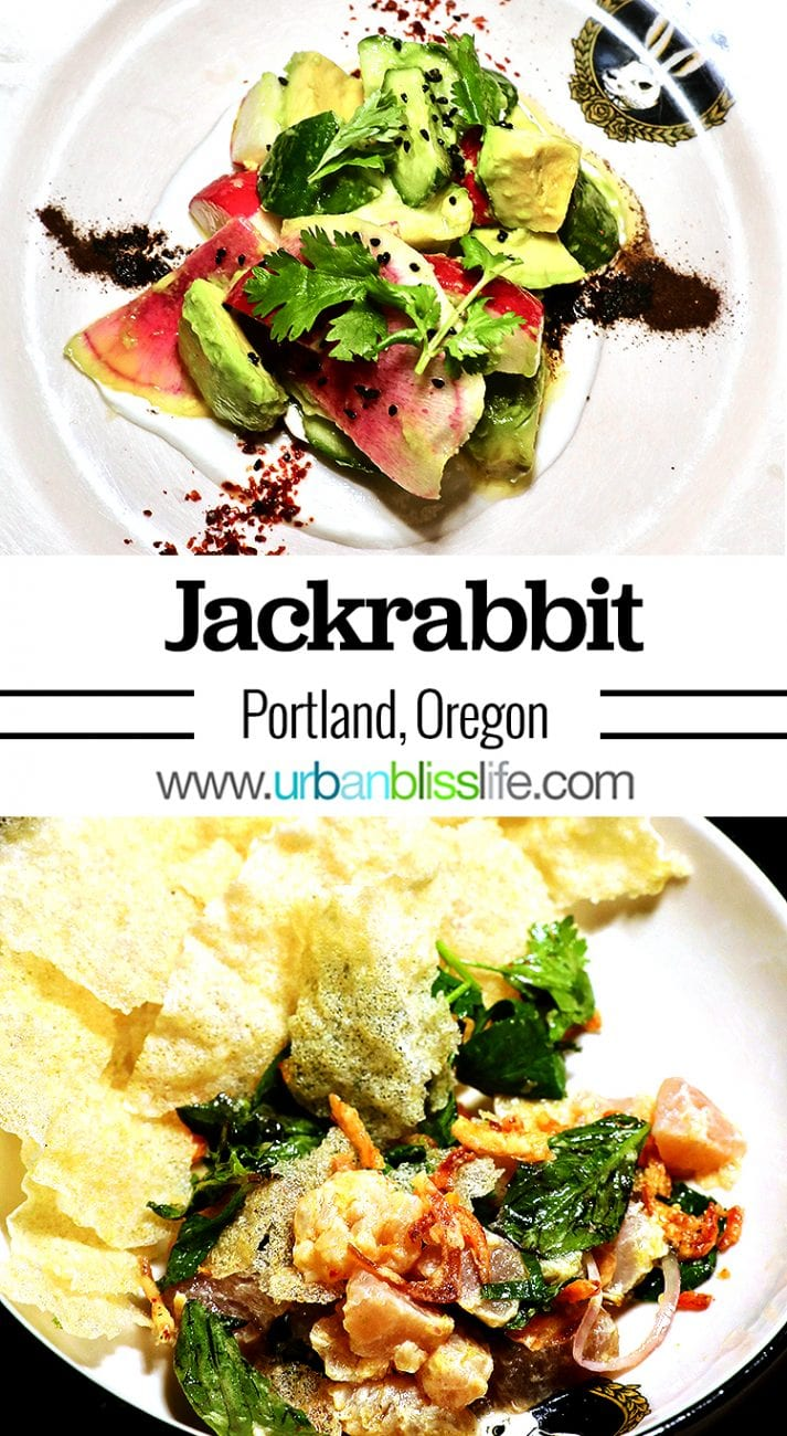 Jackrabbit restaurant review Portland Oregon