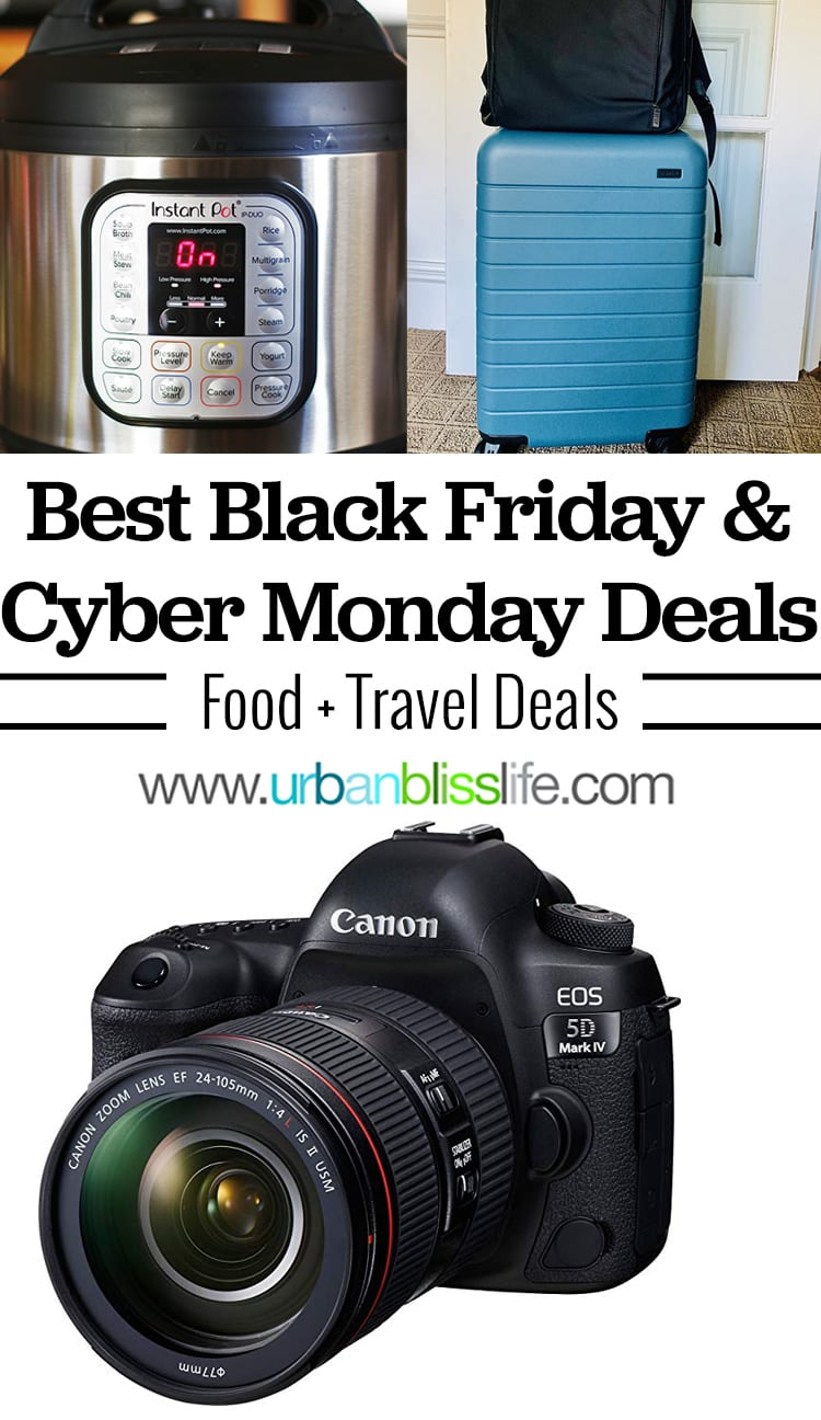 2019 Best Black Friday Deals: Food & Travel