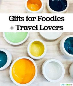 gifts for foodies and travel lovers