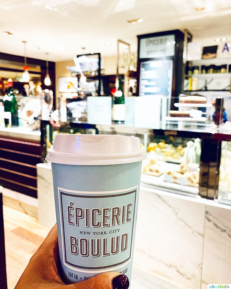 NYC coffee shop Epicurie Boulud