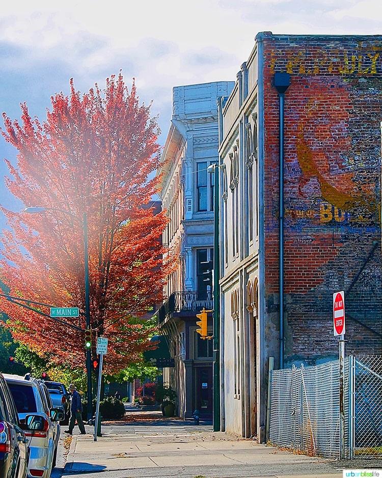 downtown walla walla in the fall