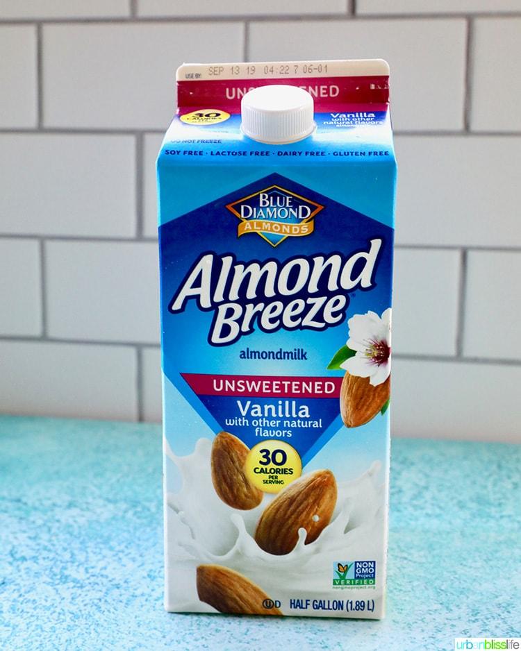 Almond Breeze dairy free almondmilk
