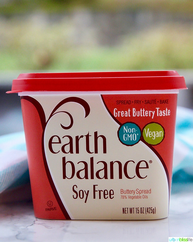 Earth Balance dairy free butter spread