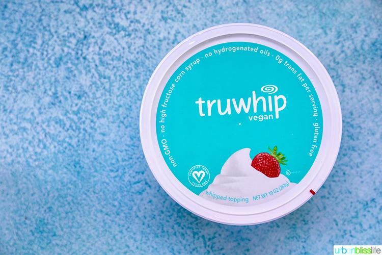 truwhip dairy-free whipped cream