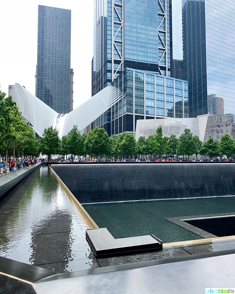 3 Days in NYC: visit the 9/11 Memorial and World Trade Center