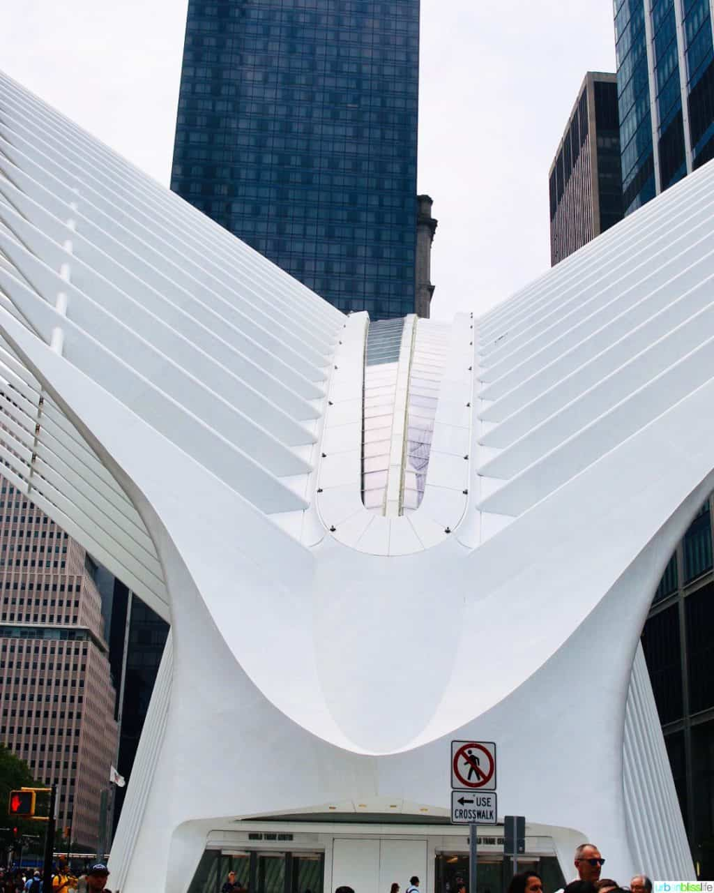 exterior of Oculus NYC