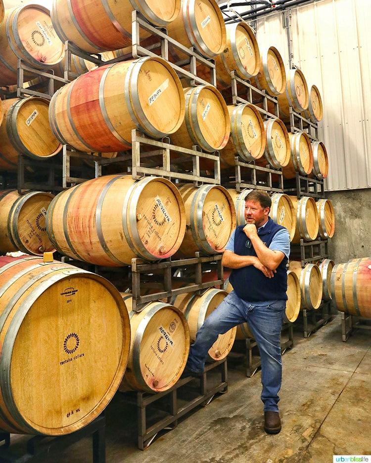 Tertulia Cellars winemaker Ryan Raber