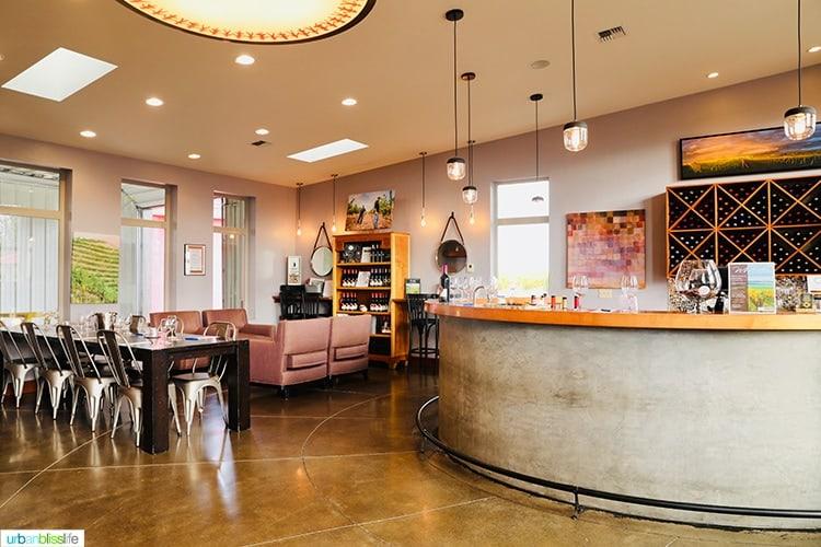 Tertulia Cellars tasting room