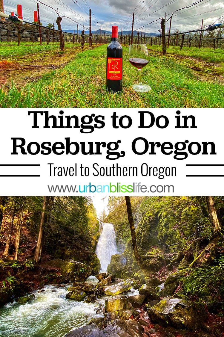 main image of things to do in roseburg oregon: wine tasting and waterfall hike