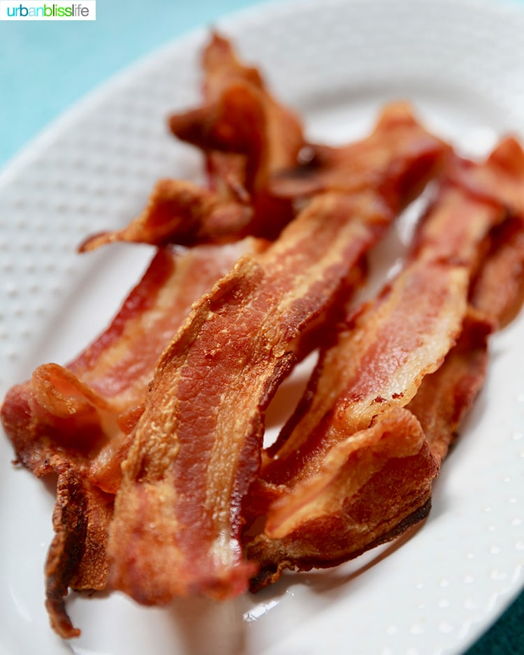 air fryer crispy bacon