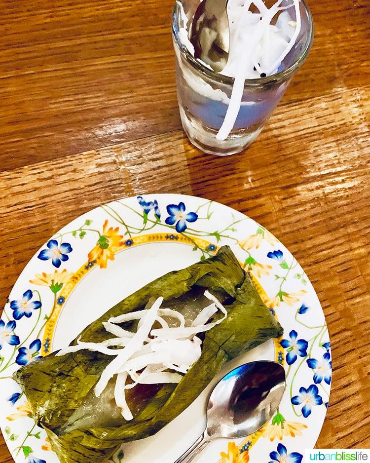 dessert at Farmhouse Kitchen Portland