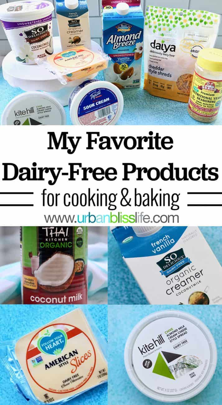 best dairy free products for cooking baking
